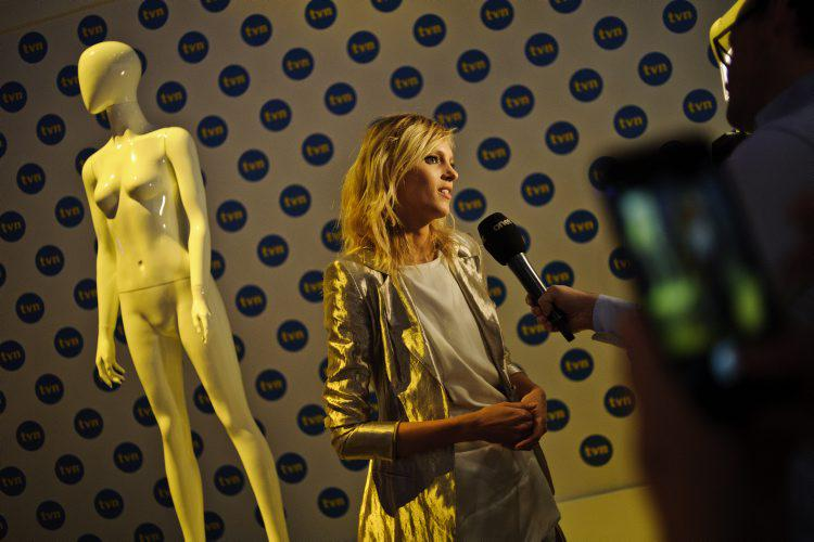 Anja Rubik (fot. Marcin Obara/Press)