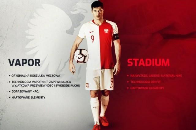 40bebcafcdc2bc Stroje, w liczbie 1919, będą dostępne w sprzedaży od wtorku 11 czerwca w  dwóch rodzajach: Vapor i Stadium (fot. Laczynaspilka.pl). Firma Nike ...