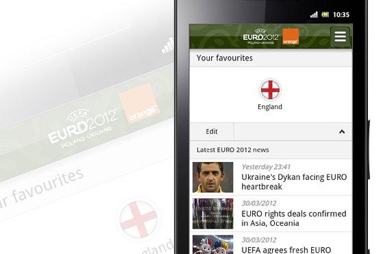 Oficjalna aplikacja euro 2012 od uefa i orange technologie newsy najnowsze for Internet 28717