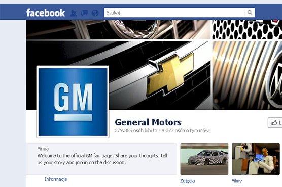 general motors przestanie p aci facebookowi reklama newsy najnowsze informacje